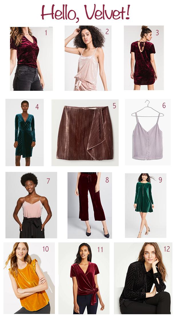 Velvet Clothes